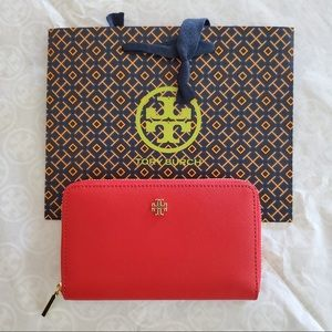 Tory Burch Emerson mini continental wallet